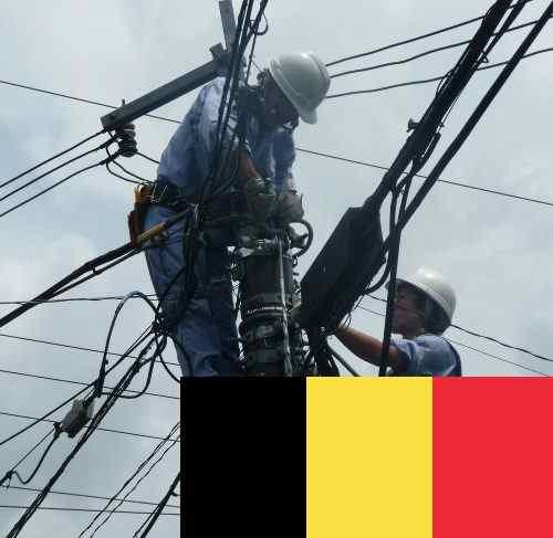 Elektryk, Belgia