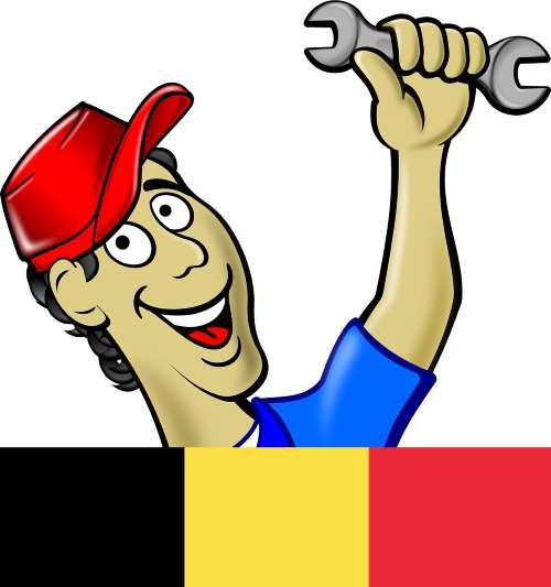 Mechanik samochodowy, Belgia
