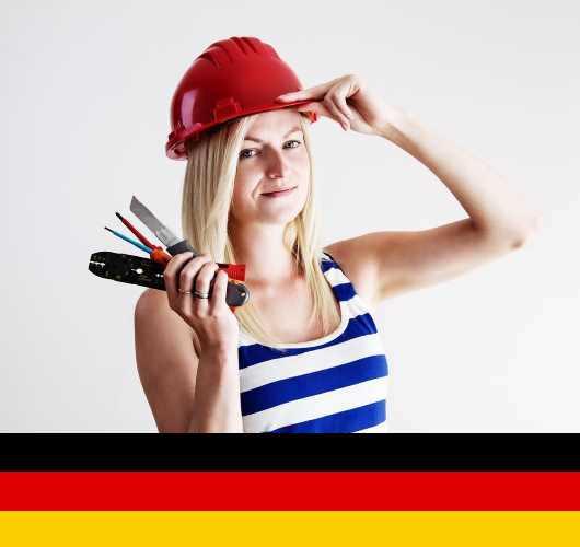 Elektryk budowlany - Niemcy